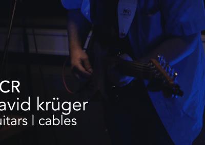 David Krüger   Guitars, Cables
