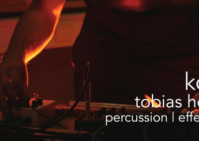 Tobias Heß   Percussion, Effects